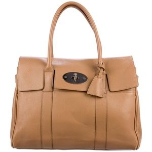 Pre loved Mulberry Leather Bayswater Tote